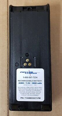 New 3800mah 7.5v Nimh Rechargeable Battery For Motorola Ht1000 Mt2000 Radios
