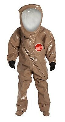 Rc550t-tn Dupont Sz Med. Tychem Responder Csm Level A Chemical Protection Suit