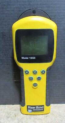 Riser Bond 1550 Handheld Cable Fault Locator No Power For Parts Or Repair