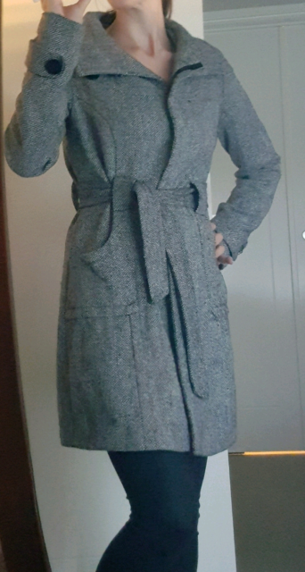 886bdac343796 Stunning Tokito wool trench style long jacket