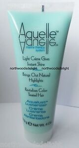 Aquelle Aqualust Lusterizer Creme Marine Therapy Instant Shine Natural Hilights