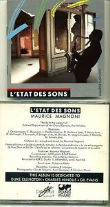 MAURICE MAGNONI - L'ÉTAT DES SONS - Original 1988 PLAINIS PHARE - RARE - Italia - Restituzione accettata SOLO per oggetti non conformi / danneggiati ----- Return accepted ONLY for Faulty products - Italia