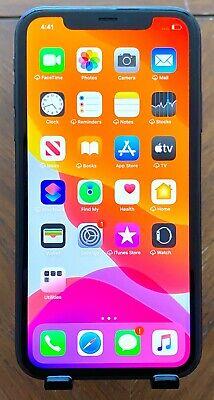 🔴🟡⚫🔵 Apple iPhone 11 Black A2111 256 GB - 4G iOS Fully Unlocked (GSM / CDMA)