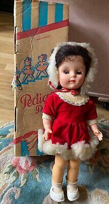 Vintage 1950S Pedigree Hard Plastic  Doll