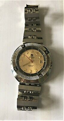 Atlantic Skipper 17 Rubis Watch Vintage Rare Antimagnetic Old Retro Rare Diver