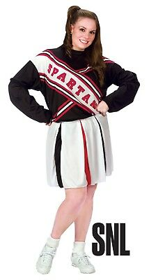 Fun World Spartan Cheerleader Snl Saturday Night Live Plus Halloween - Saturday Night Live Kostüm