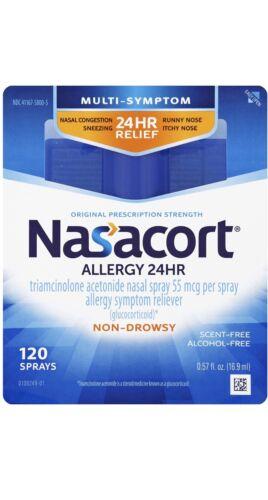 Nasacort 24hr Allergy Medicine Spray - 0.3oz
