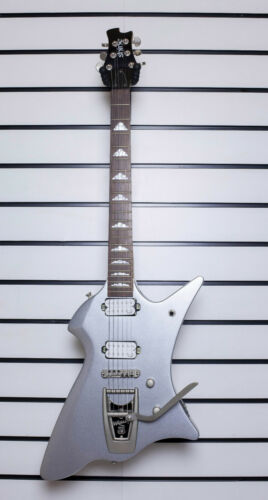 Electric Guitar SHINE WT430SF Humbucker Grover Tuners Silver Wigsby Tremolo Y16