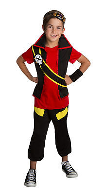 Zak Storm Child Costume Super Pirate TV Show Halloween Cosplay Kids Boys Youth - Cosplay Storm Costume