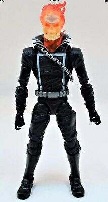 Marvel Legends Ghost Rider Figure Black Costume Johnny Blaze Rhino BAF Wave