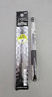 Mitsubishi Uni-ball Signo Dx Black 0.38mm Rollerball Pen Refill