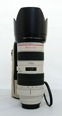 """# Canon EF 70-200mm f/2.8 USM Lens """"UB"""" S/N 388237"""