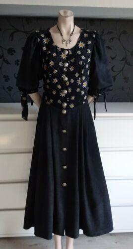 German Austrian  Warm Trachten Edelweiss Dress 6-8