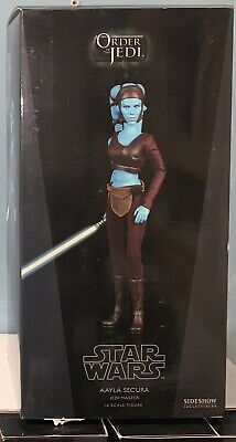 Sideshow Collectibles Aayla Secura Jedi Master 1/6 MIB Order of the Jedi #2155