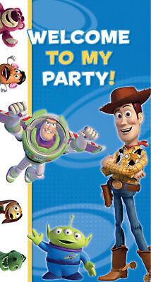 r Party-Dekoration Plakat Woody & Buzz Wand Dekoration (Tür-banner)