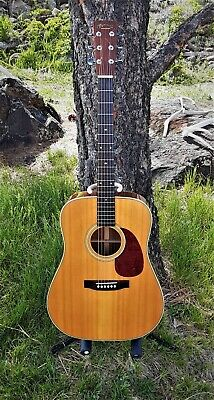1990 Martin Shenandoah HD-2832, Aged Solid Spruce Top, Beautiful Sound! New Pics