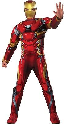 Rubie's Iron Man Halloween Costume Adult Men Marvel Avengers Superhero Civil War
