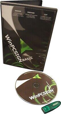 Cutting Software Winpcsign Basic 2009 4 Any Vinyl Plotter Cutter Uscutter Titan