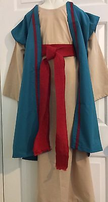 Child (8-10) Biblical Nativity Costume  Holy Saint Shepherd Joseph Mary Wisemen