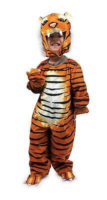 3D-TIGER Braun KOSTÜM TIGERKOSTÜM PLÜSCH super-weich Gr.86-92- 98-104 - Super Katze Kostüm