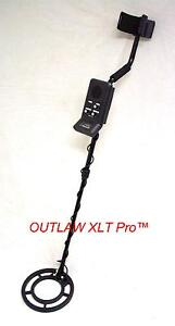 NEW OUTLAW Pro Metal Detector Underwater Waterproof Search Coil