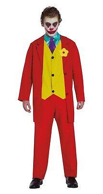 Herren 2019 Joker Kostüm Assassin Erwachsene Halloween Kostüm - Rote Bösewicht Kostüme