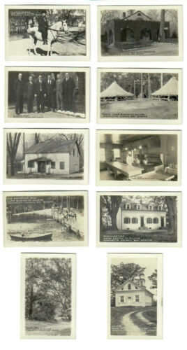 Monmouth Council New Jersey BSA Scouts Camp Burton-At-Allaire Photo set of 10