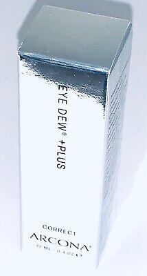 Arcona Eye Dew + Plus 0.4oz/12mL•ANTI-AGING•Vitamin C+Retinol+Peptides•FREE -
