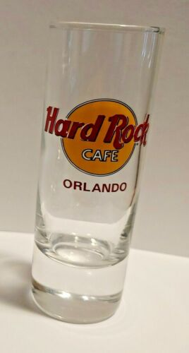 "Hard Rock Cafe Double Shot Glass Orlando 4"""