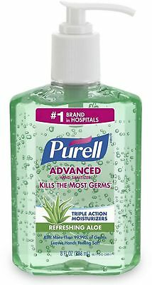 PURELL Advanced Instant Hand Sanitizer, 8oz Bottle