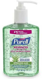 Purell Hand Sanitizer with Aloe 8 oz