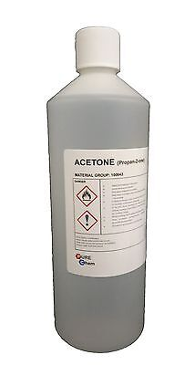 1L Botellas Acetona Pura - Uña Acrílicas Quitaesmalte Quitaesmalte de Uñas 99.8%