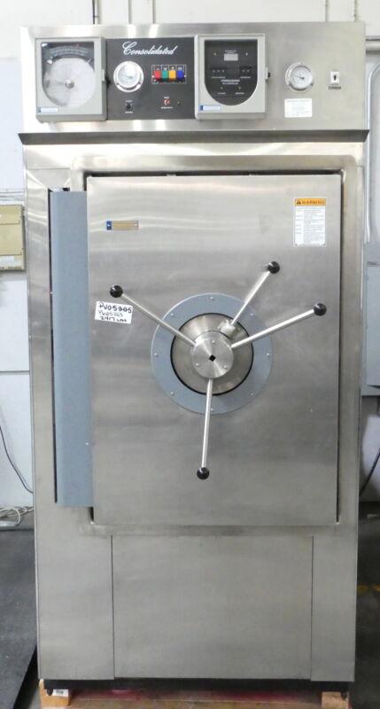R177390 Consolidated Stills & Sterilizers SR-24C-P Autoclave