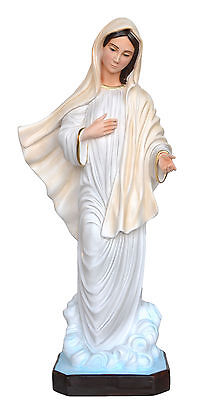 Madonna Medjugorje Statues Cm 80 Resin