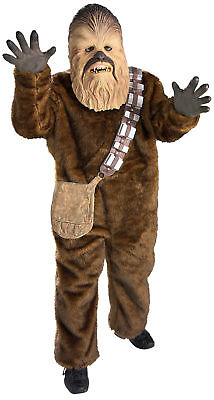 Star Wars Chewbacca Deluxe Child Costume Wookie Movie Theme Party Suit - Wookie Halloween Costume