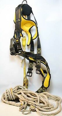 Ma5 Guardian Fall Protection Cyclone Construction Harness M-l 01214