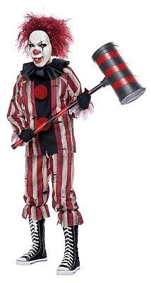 Nightmare Clown Circus Horror Child Costume