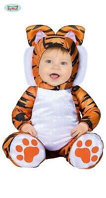 Costume Tigrotto TAGLIA 12/24 MESI Carnevale Bebè Bambino Tigre Neonato Nuovo