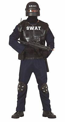 für Herren Größe M-L - Fasching Karneval (Herren Swat Kostüme)