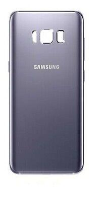 Tapa trasera de bateria cristal trasero para Samsung Galaxy S8 G950F Gris...