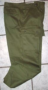 JUNGLE PANTS MINT - GENUINE VIETNAM AUSTRALIAN ARMY ISSUE - 1960-70'S DATED