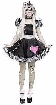 Adult Rag Broken Doll Costume - Doll Adult Costume