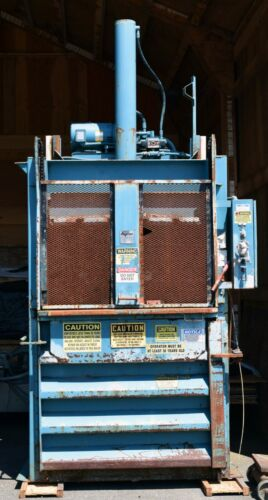 Marathon Vertical Hydraulic Baler Compactor V-4830hd - For Parts Only *new Price