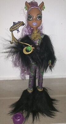 Monster High Puppe - Clawdeen Wolf Halloween