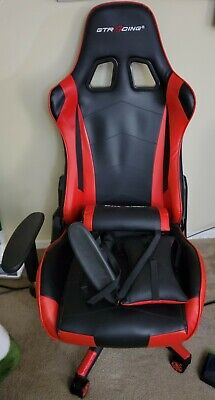 Gtracing - Racing Style Gaming Chair Reclining Ergonomic Leather Chair