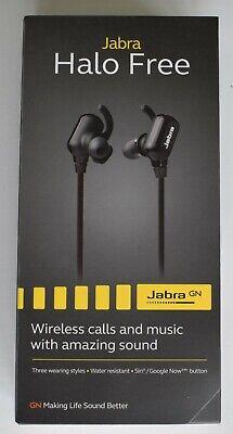 Jabra Halo Free In-Ear Stereo Bluetooth Wireless Earphones / Headphones - Black for sale  Shipping to Ireland