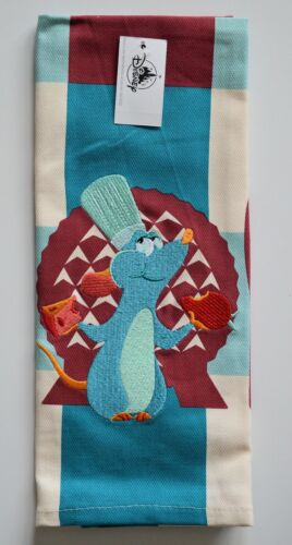 Disney Parks 2021 Epcot Food And Wine Festival Chef Remy Dish Kitchen Towel NEW