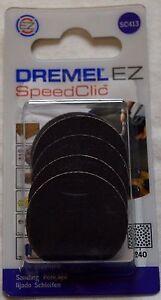 DREMEL SC413 EZ SpeedClic Sanding Discs 2615S413JA 240 Grit Dremel 413 pack of 6