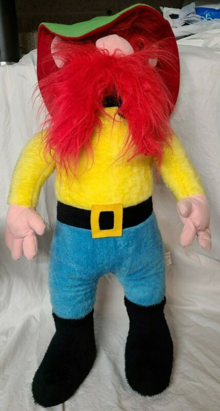 "Vintage Yosemite Sam Warner Brothers Mighty Star 1971 Plush Toy large 31"" tall"