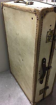 alter Kofferschrank Überseekoffer Reisetruhe Oldtimer Koffer Tisch Loft